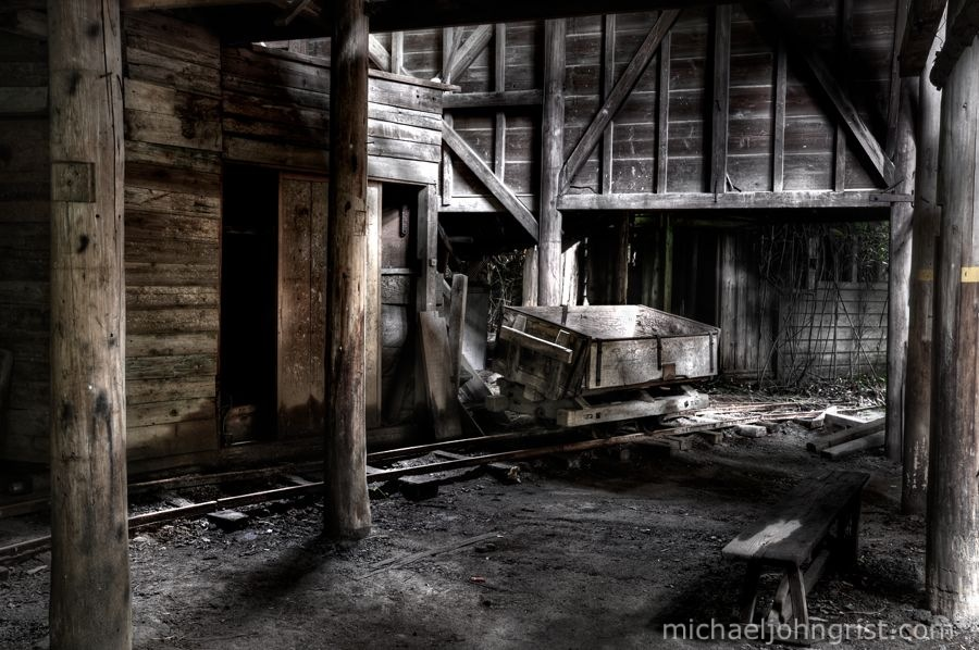 seigoshi mine ruins haikyo abandoned cart urbex lonely ruined 21