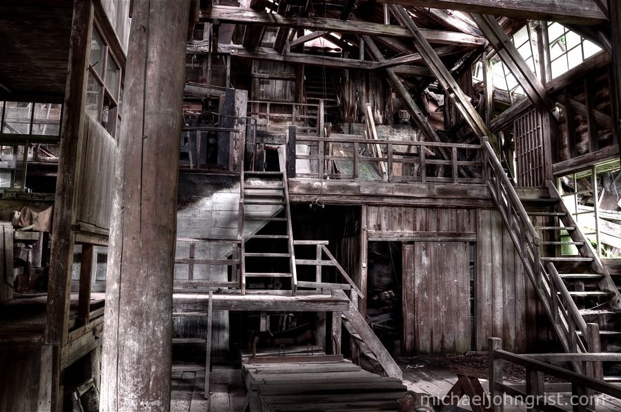 seigoshi mine ruins haikyo abandoned cart urbex lonely ruined 23