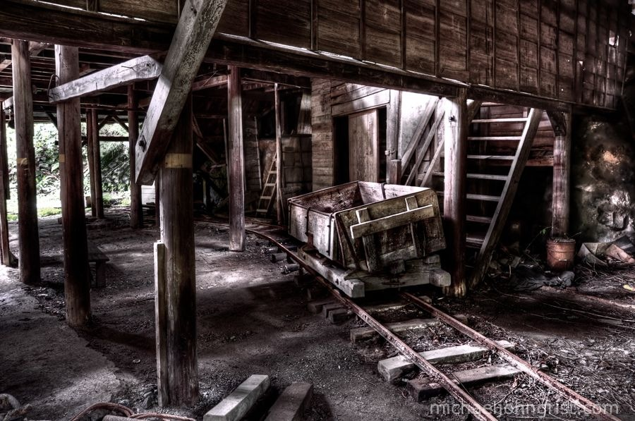 seigoshi mine ruins haikyo abandoned cart urbex lonely ruined 31