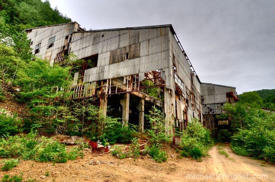 taro mining town ruins iwate 8