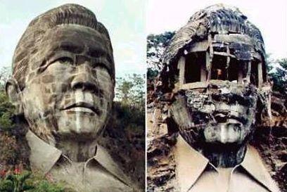 ferdinand marcos dictator philippines bust6
