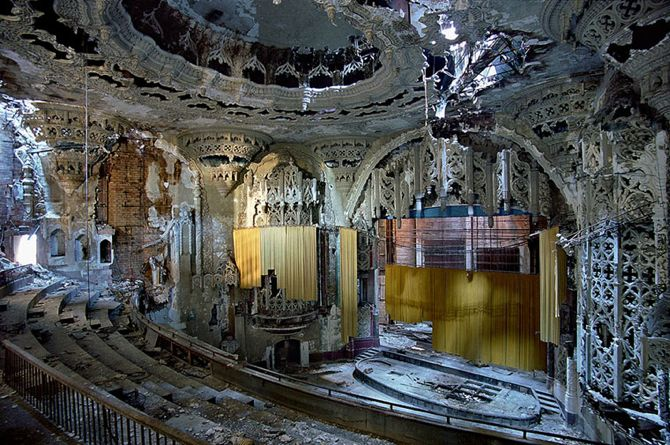 awesome abandoned theaters in the usa michael john grist