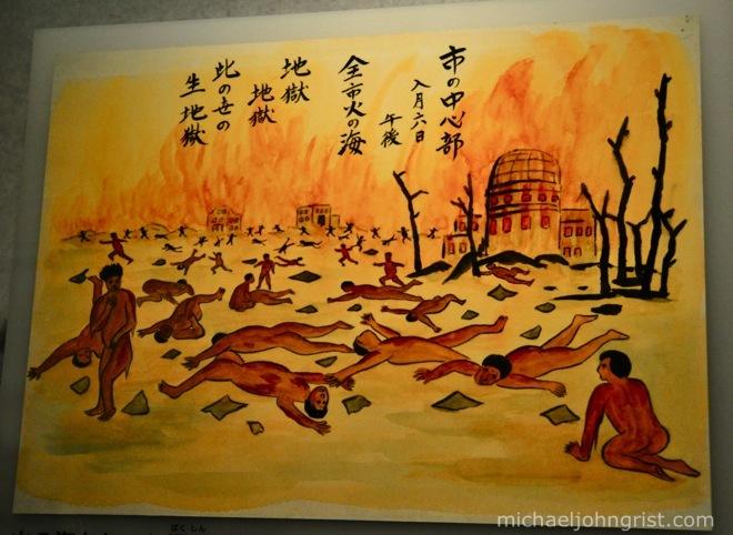"Reflection of ""Hiroshima"" by John Berger"