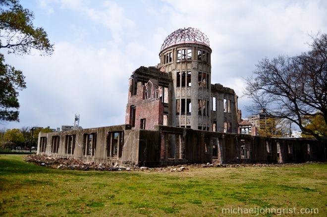 Hiroshima A-bomb dome  Michael John Grist  Michael John Grist
