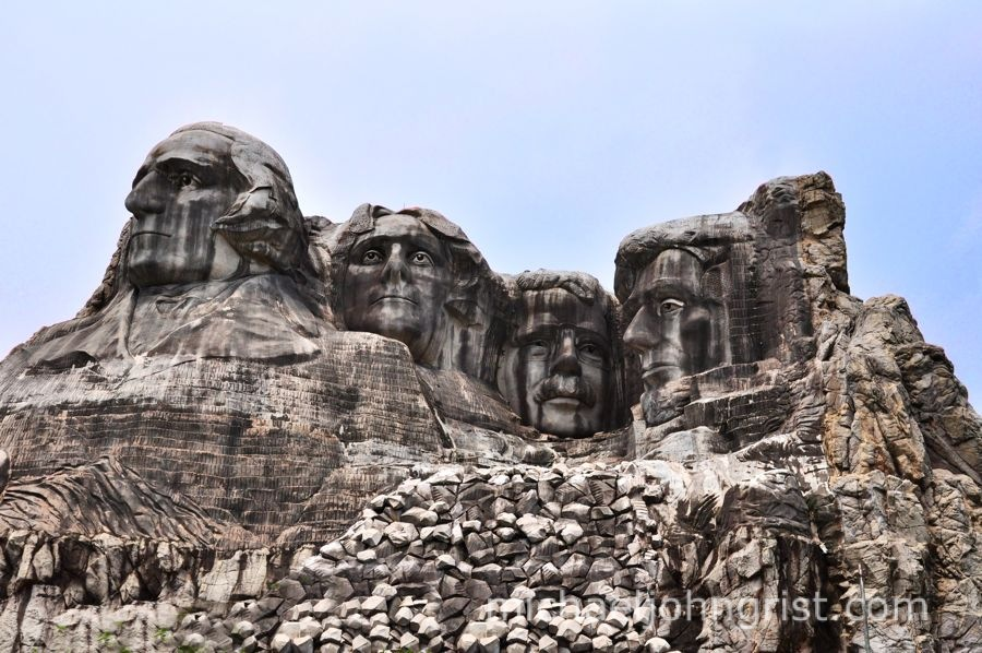 The Carving of Mount Rushmore Rex Alan Smith