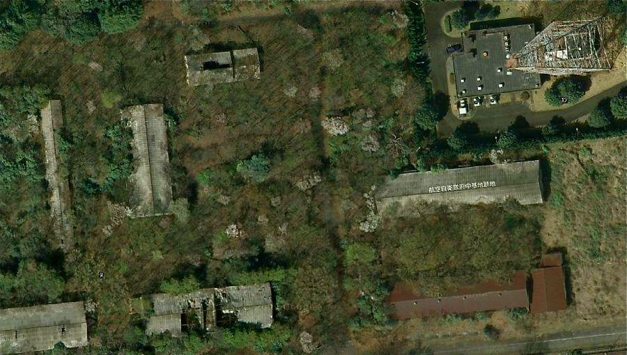 Abandoned US Air Force Base Fuchu Michael John Grist - Us air force bases in japan map